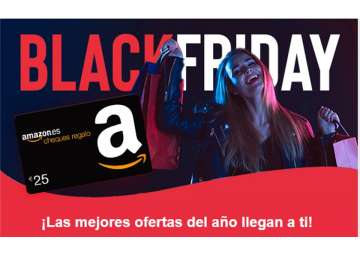 black friday - dona't  d'alta al club i aconsegueix una targeta amazon