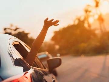 precaución al ponerse al volante en vacaciones